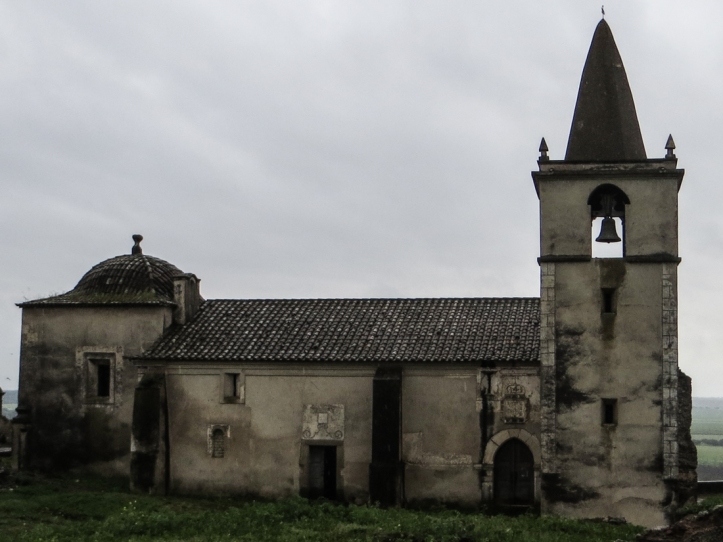 The Parish Church in Juromenha Castle