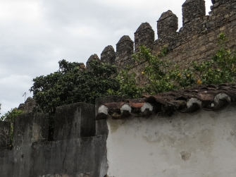 The Mediaeval walls of Monforte