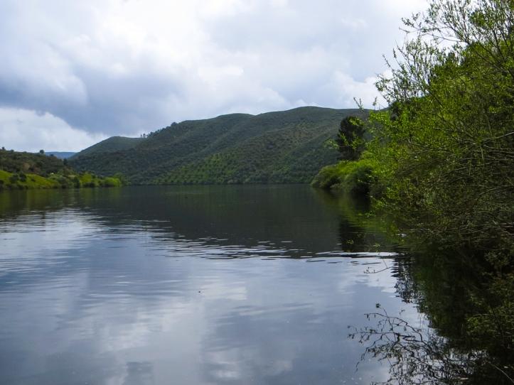 The Tagus River below Chao da Velha