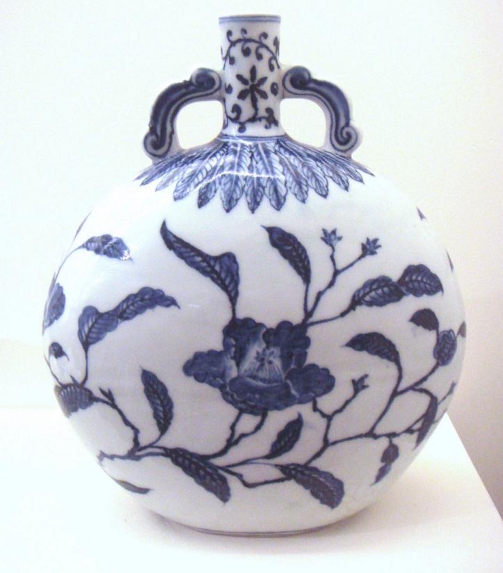 Ming Pottery (https://commons.wikimedia.org/wiki/File:Blue_and_white_jar_Jingdezhen_Ming_Yongle_1403_1424.jpg)Ming Pottery (https://commons.wikimedia.org/wiki/File:Blue_and_white_jar_Jingdezhen_Ming_Yongle_1403_1424.jpg)