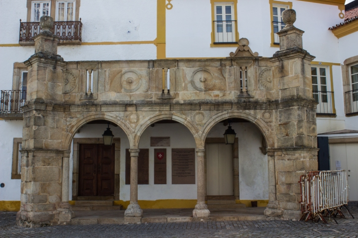 The balcony of the Prior of Crato's Palace