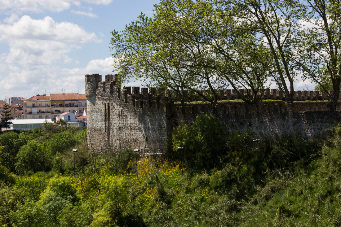 Walls of the Castle of Santarem