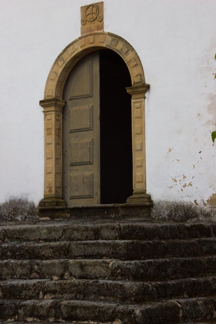The door into the Chapel of St John, Amieira