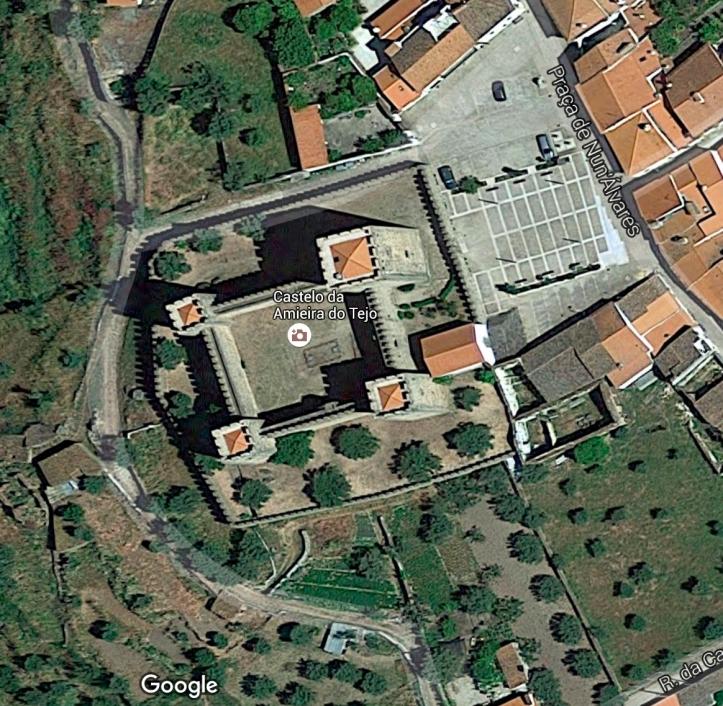 Armieira Castle (Google maps)