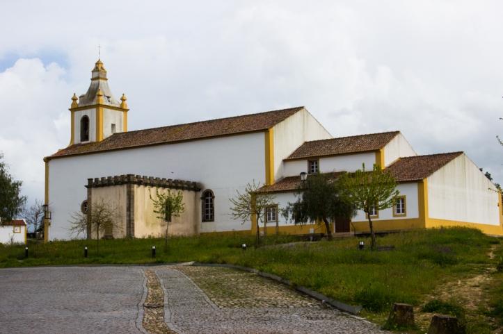 The Church in Flor da Rosa