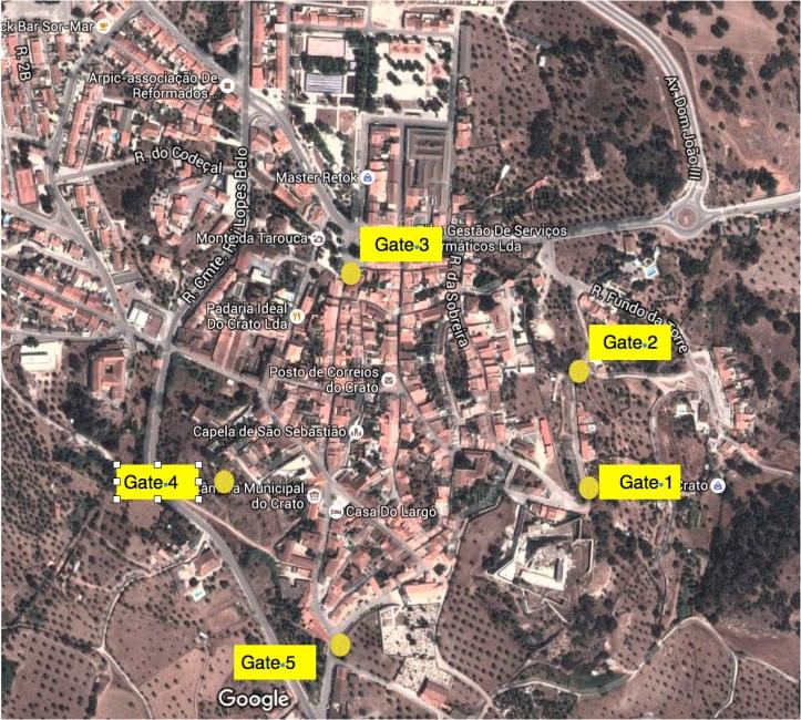 Crato Historic Town In Portugals Alentejo London Traveller - Crato map