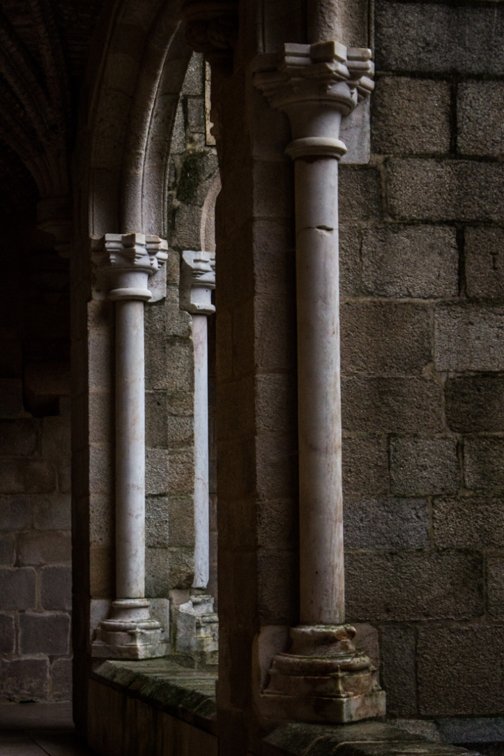 The Cloister of the Pousada of Flor da Rosa