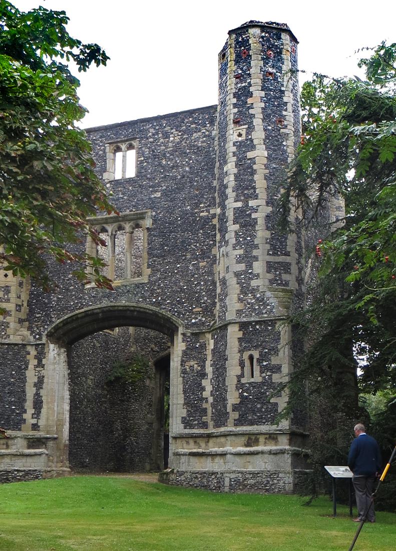 The Gatehouse of Thetford Abbey