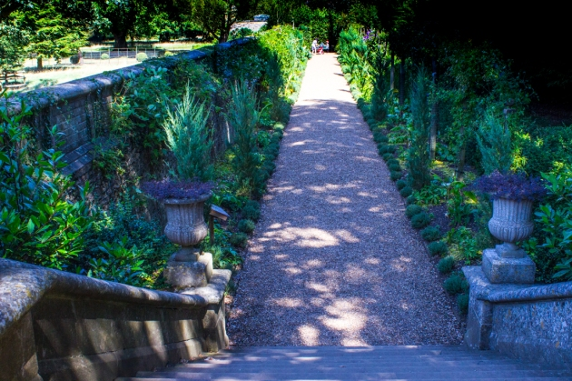 The Italian Garden, Ickworth House