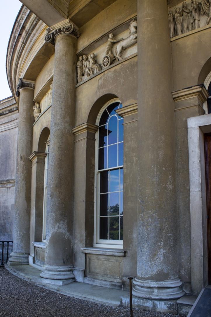 Carving on the Rotunda of Ickworth House