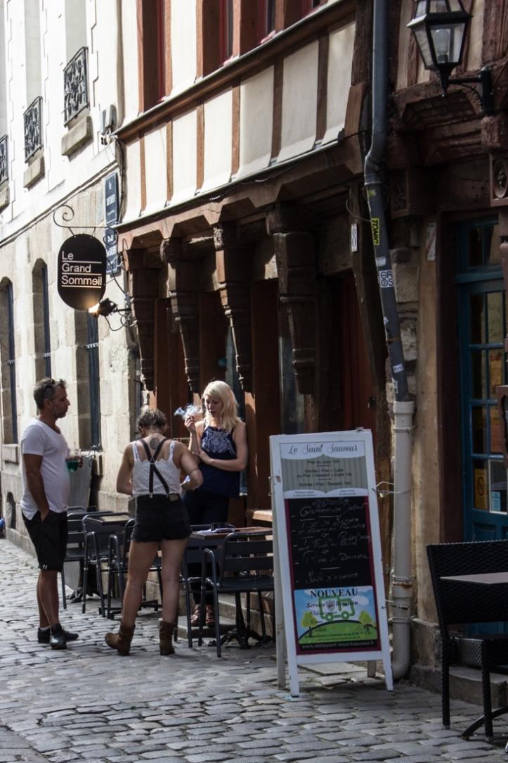 Rue St-Sauveur, Rennes