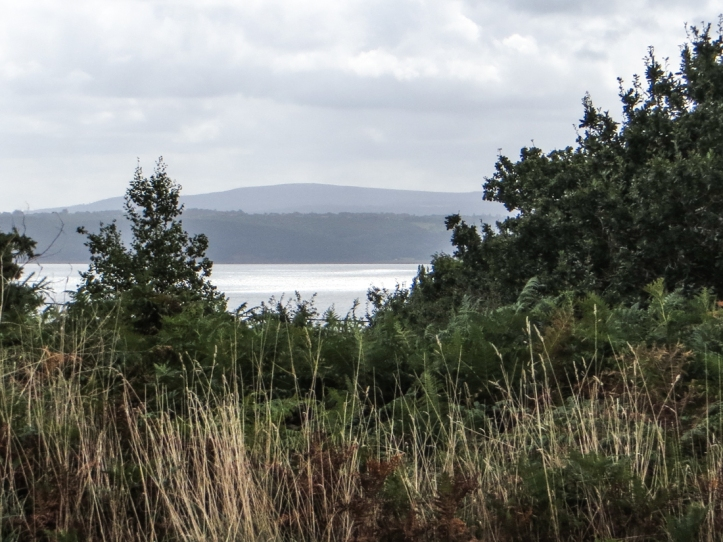 Looking towards the Crozon Peninsular