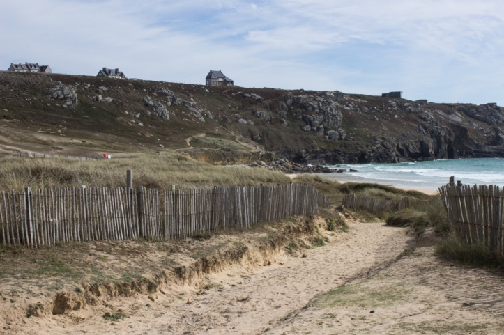 Walking the coastal path at Camaret-sur-Mer