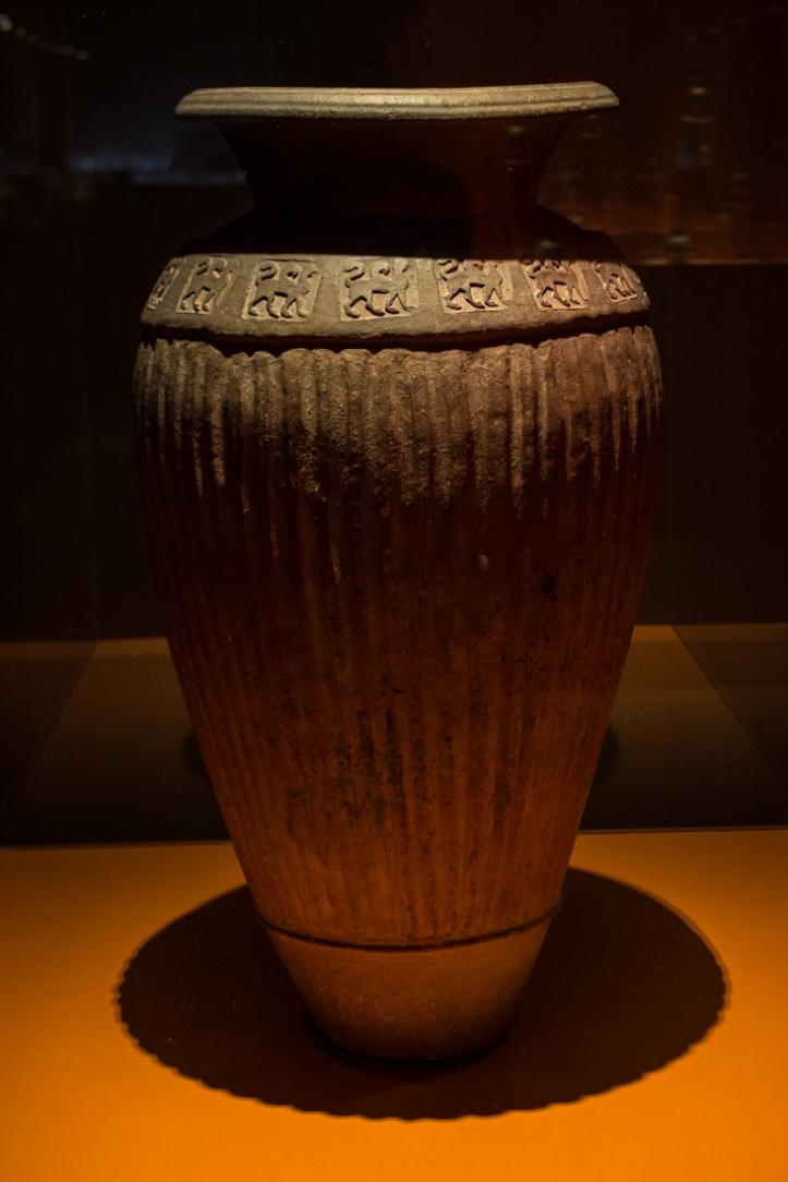 Etruscan urn