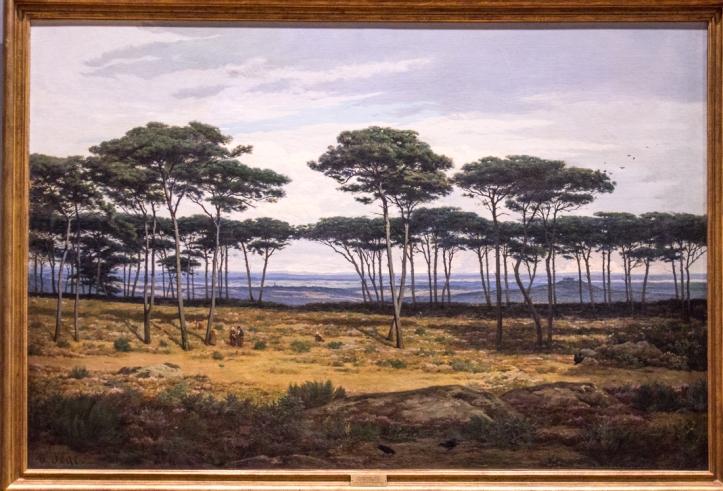 Alexandre Sege, 'The Pines of Pledeliac', 1874