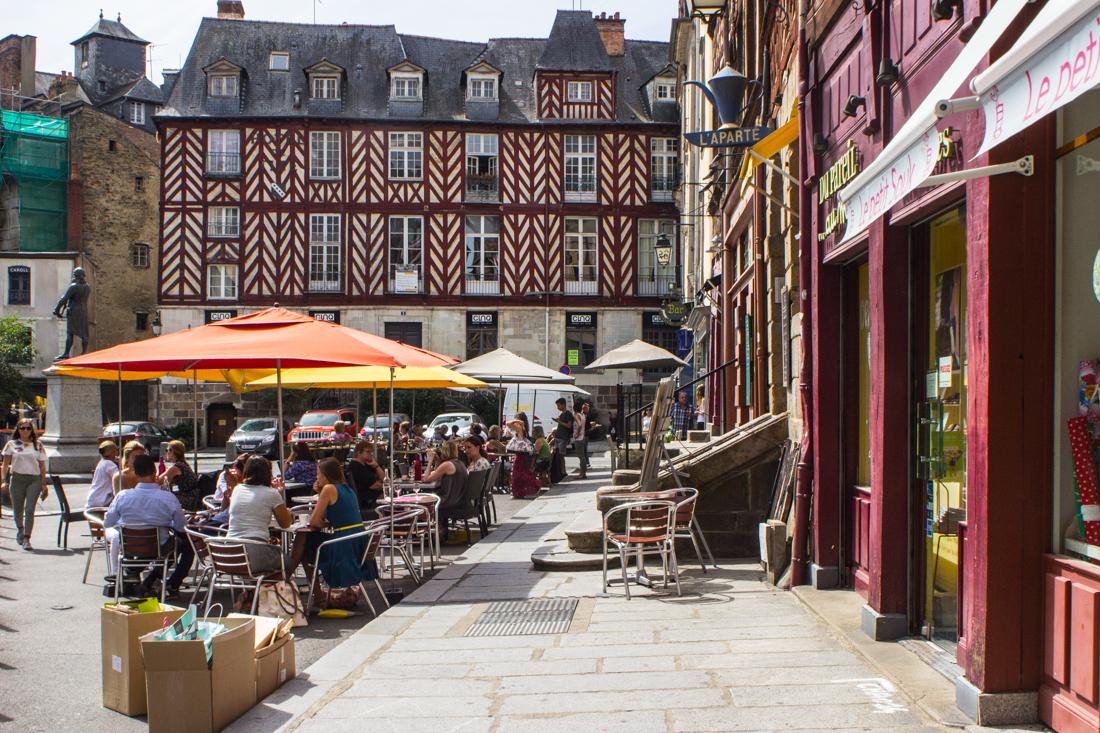 Rue Ralier du Baty, Rennes