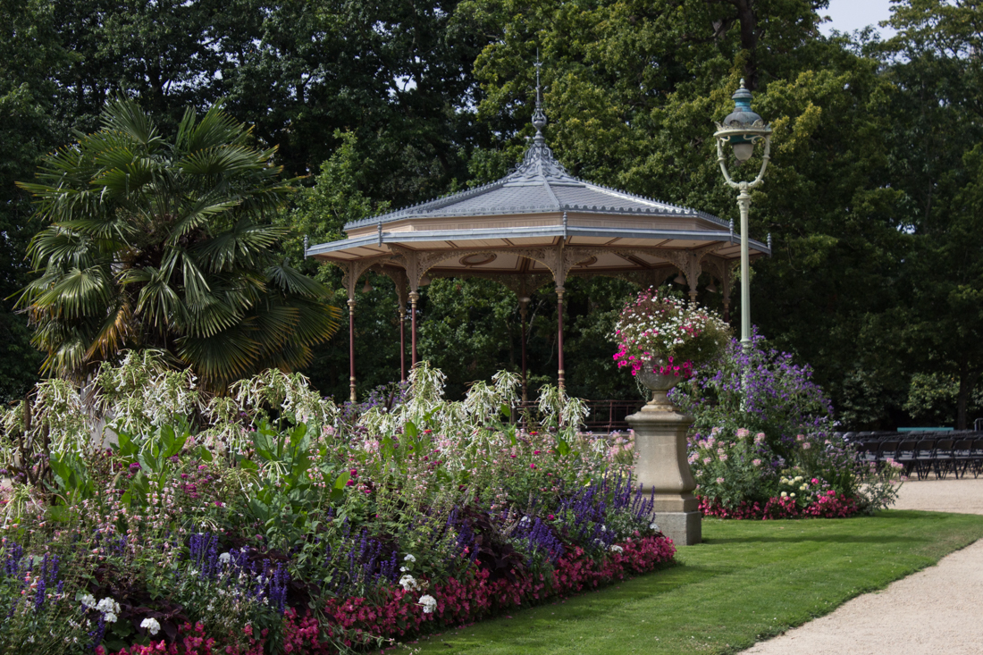 The Bandstand in the Thabor Gardens