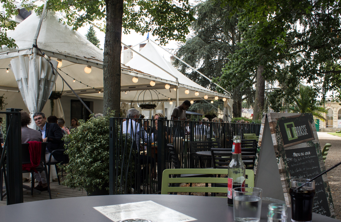 The restaurant in the Thabor Gardens