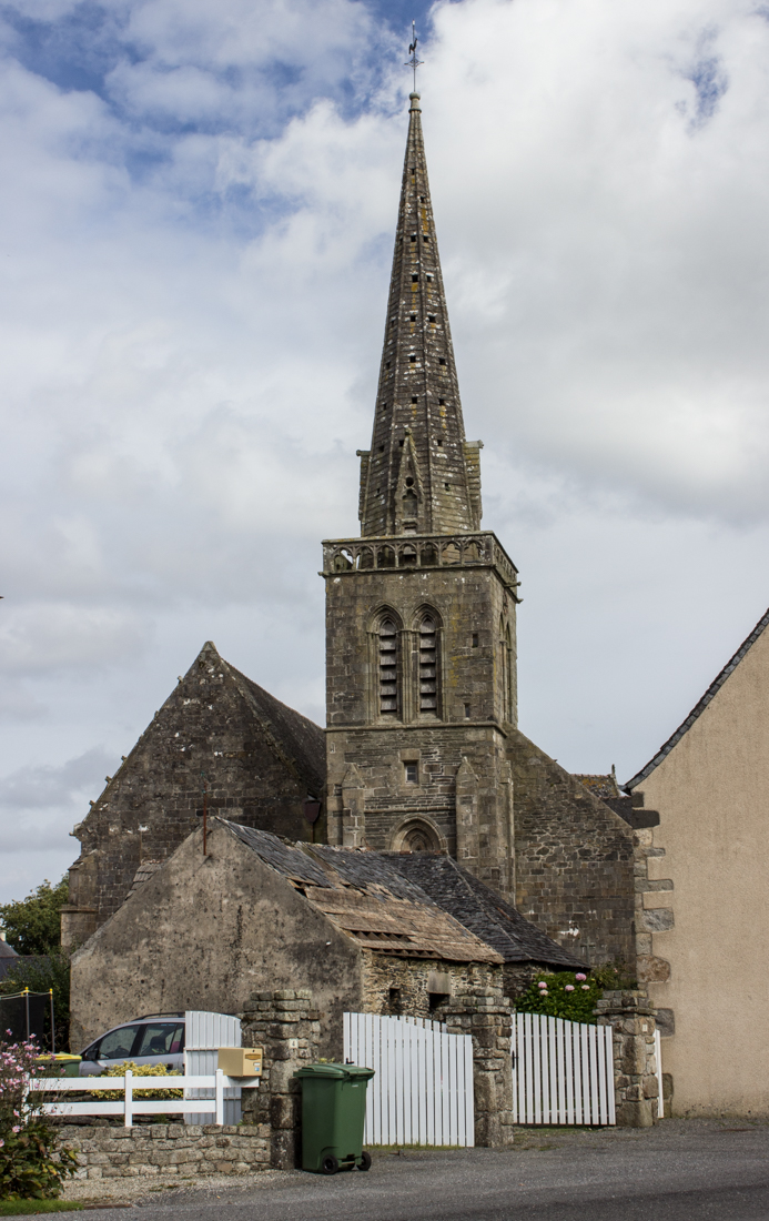 The West End of La Martyre Church