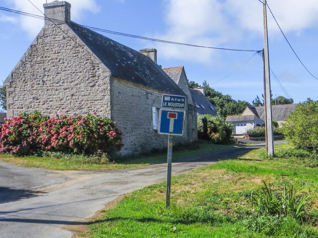 Typical rural hamlet