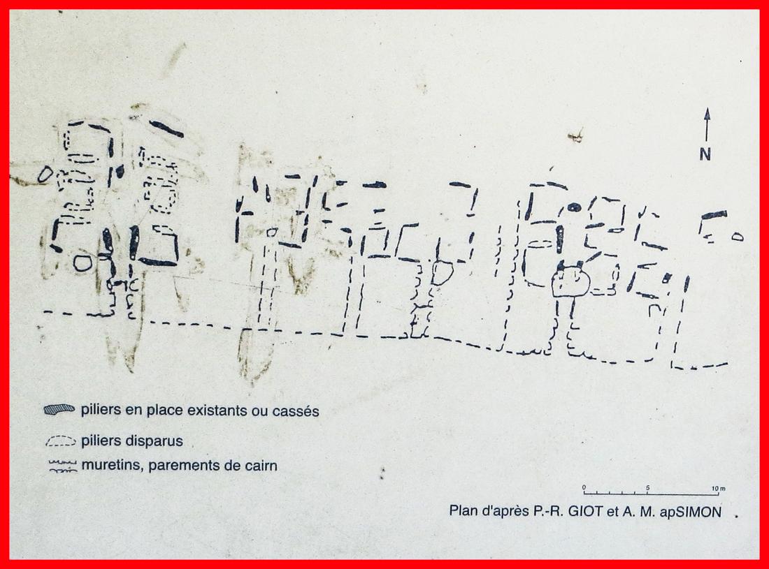 Information board at Quelarn