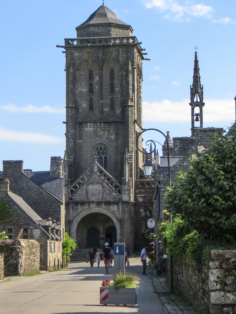 The Church of St Ronan, Locronan