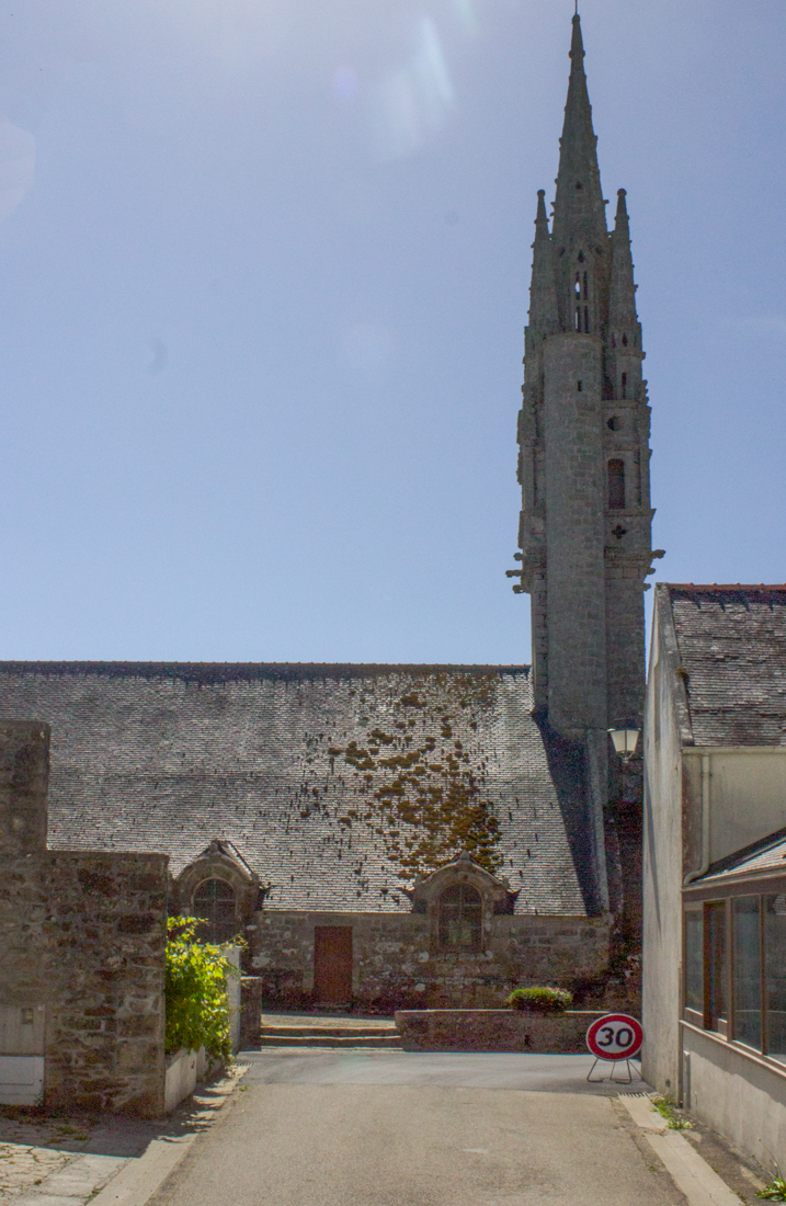 The Church in Cleden Cap Sizun