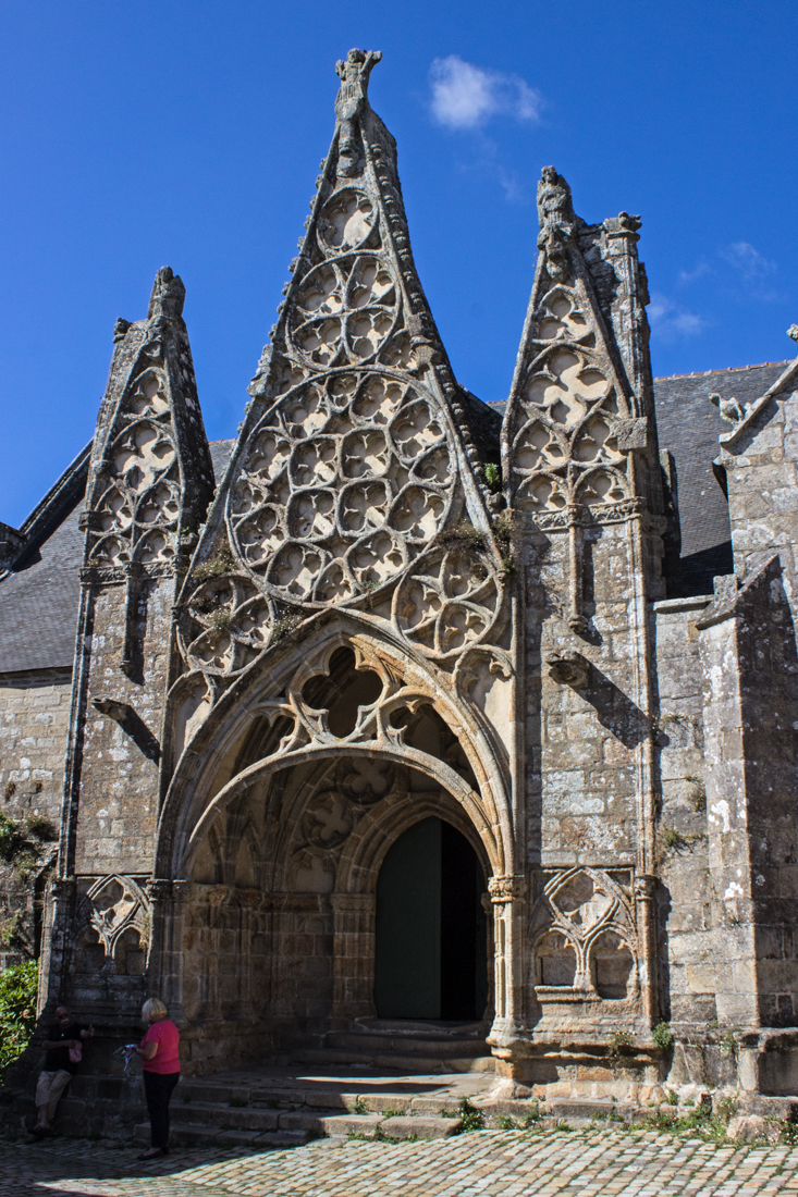 The South Porch (1400s) of the Monastery Church of Notre Dame de Roscudon