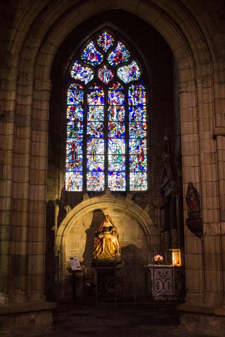 The 16C Pieta, Notre Dame de Roscudon, Pont Croix