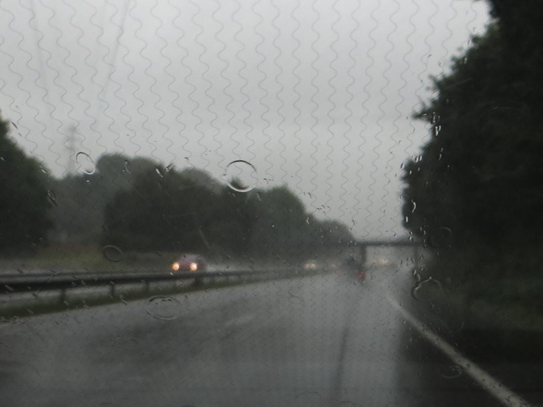 The motorway between Quimper & Brest