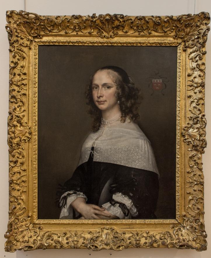Adriaen Hanneman (1661): Dana van Vrijberghe