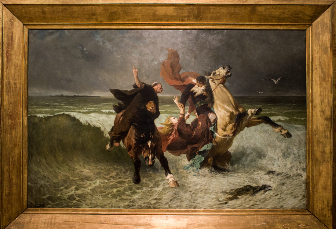 Evariste-Vital Luminais (c.1884): The Escape of King Gradlon