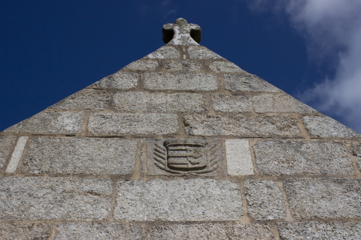 Coat of Arms on The Church of Notre Dame at Brennilis