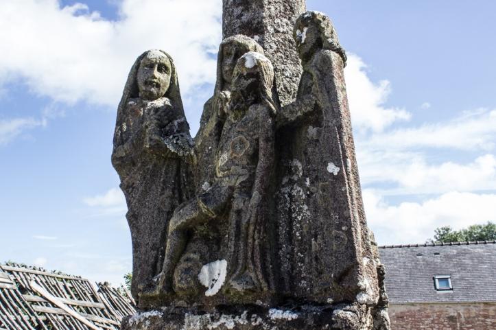 The Pieta on the Calvary at Brennilis