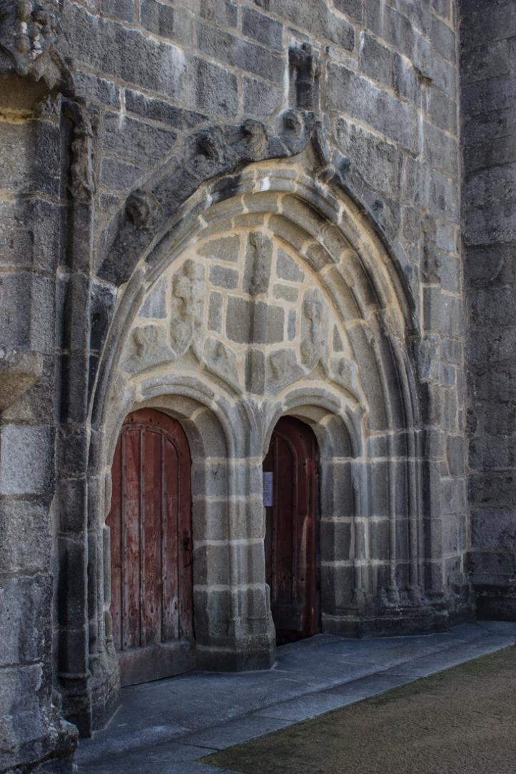 The West Door of Brennilis Church