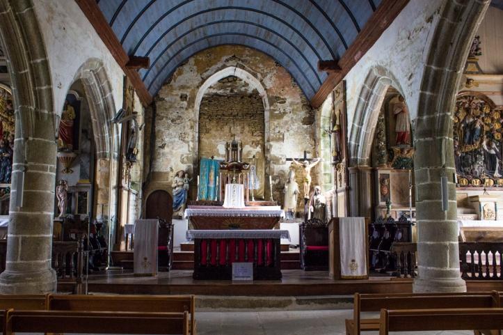 The Church of St Yves, Plouneour-Menez