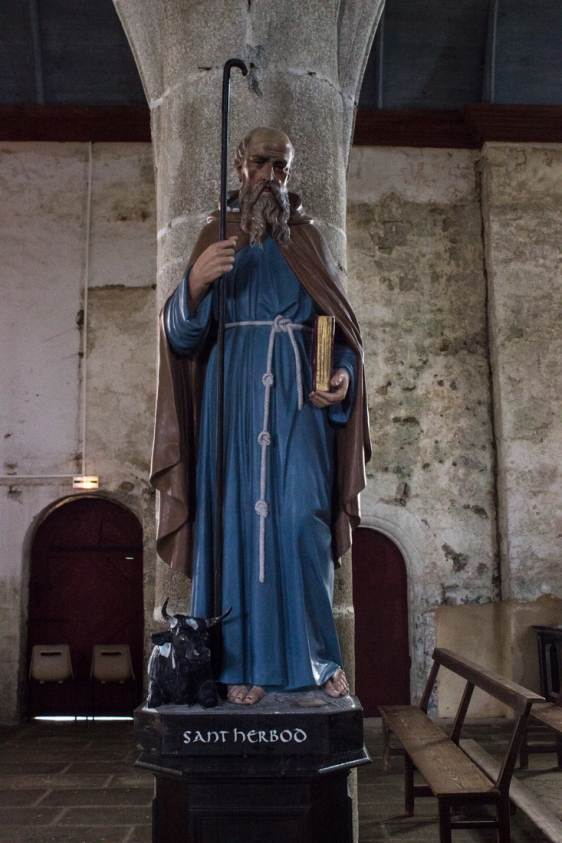 St Herbot in the Church of Plouneour-Menez
