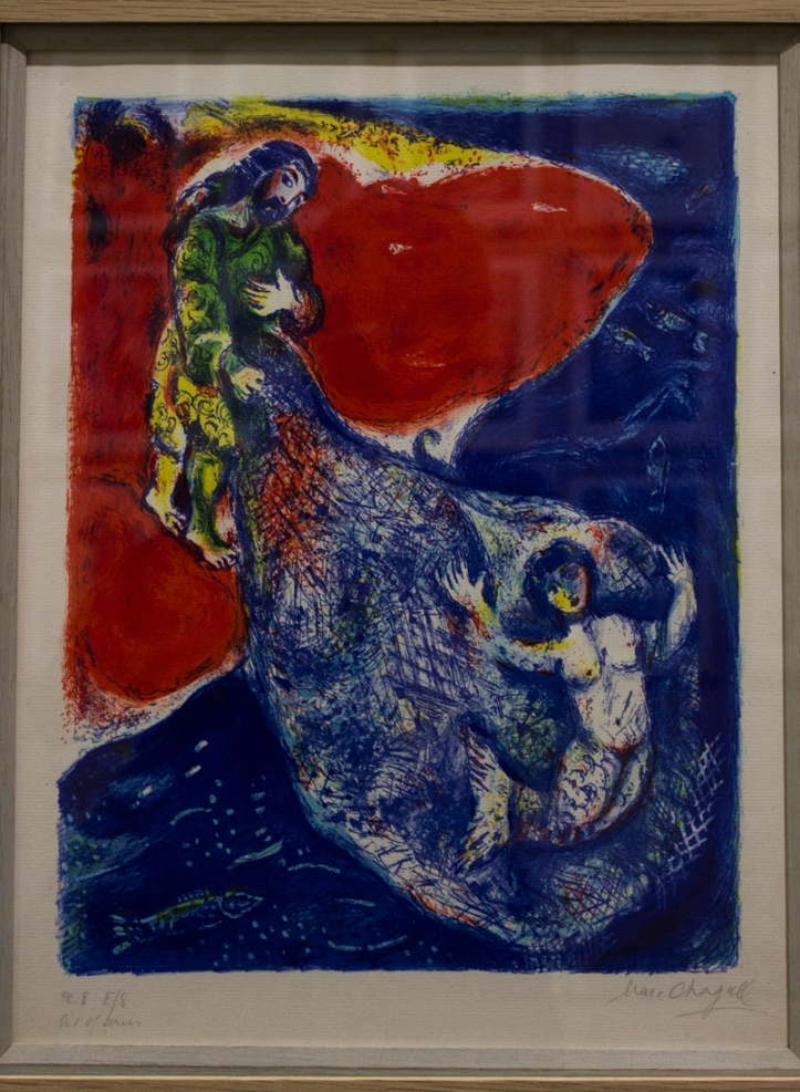 Chagall illustration for 1001 NIghts