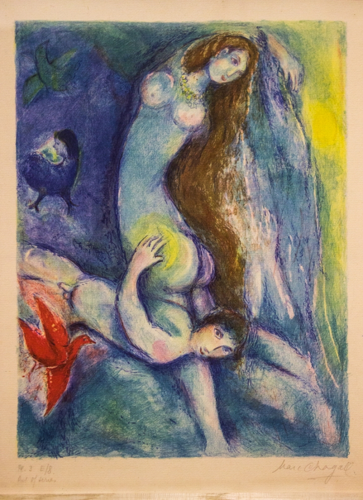 Chagall illustrations for 1001 nights
