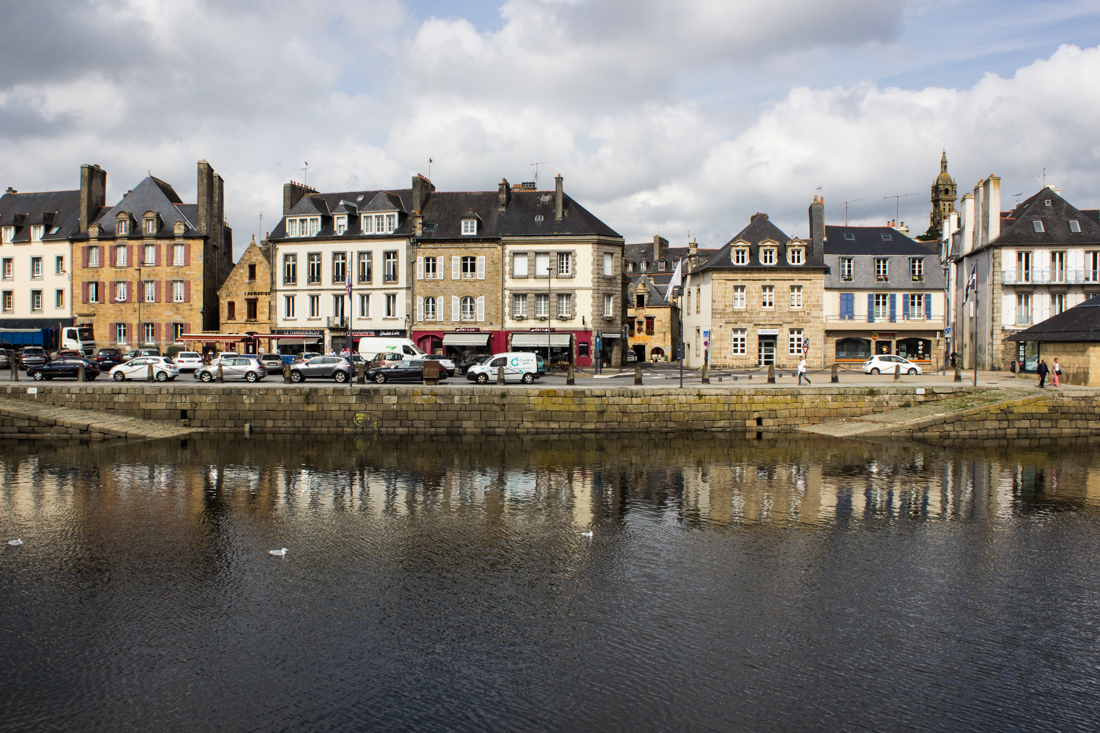 The quayside, Landerneau