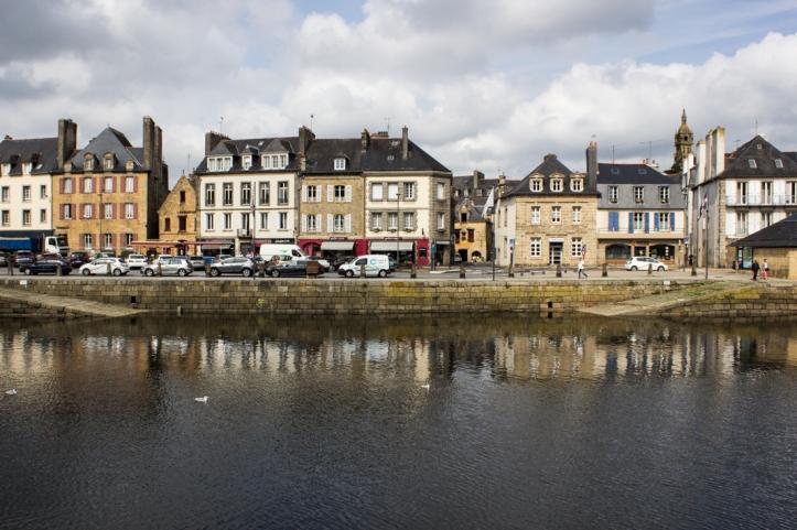 The quayside, Landerneau