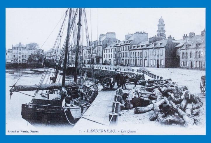 The quaysides, Landerneau