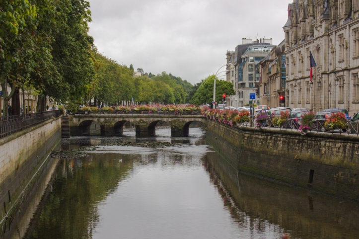The Odet River at Quimper