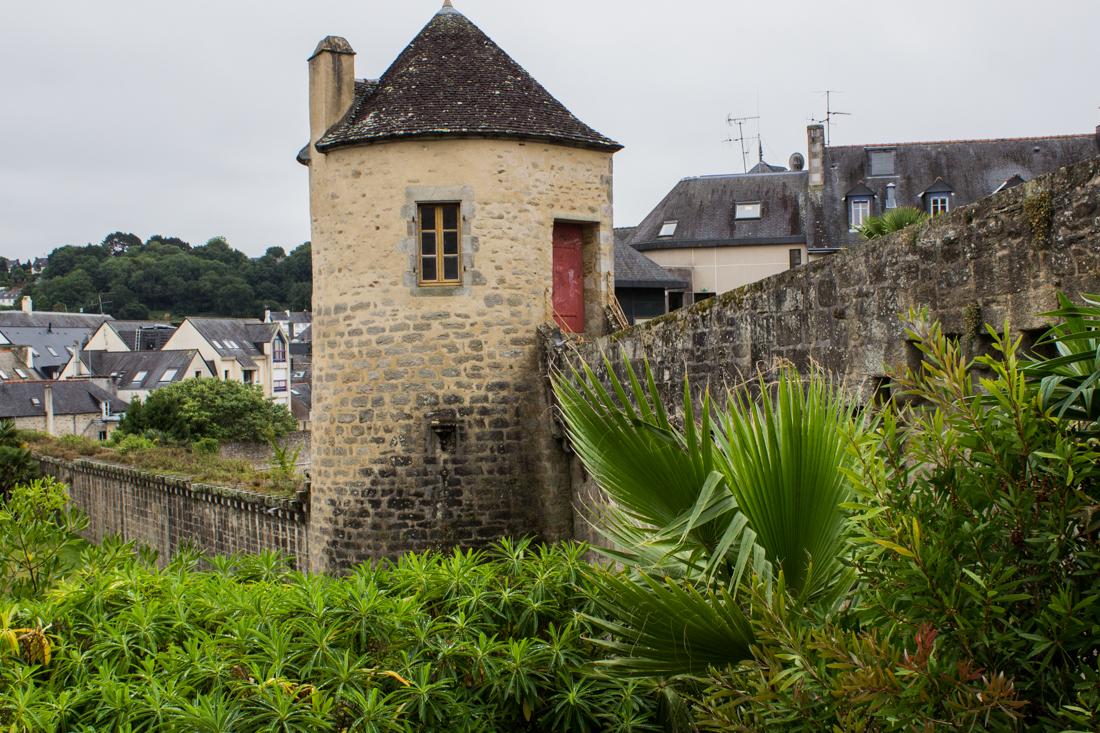 The Tour de Nevet & Mediaeval Walls of Quimper