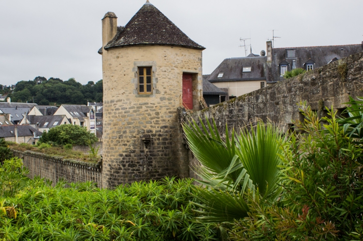 The Tour de Nevet & Mediaeval Walls of Quimper