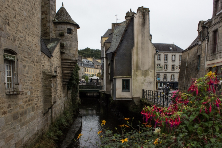 The Pont Medard over the Steir River in Quimper