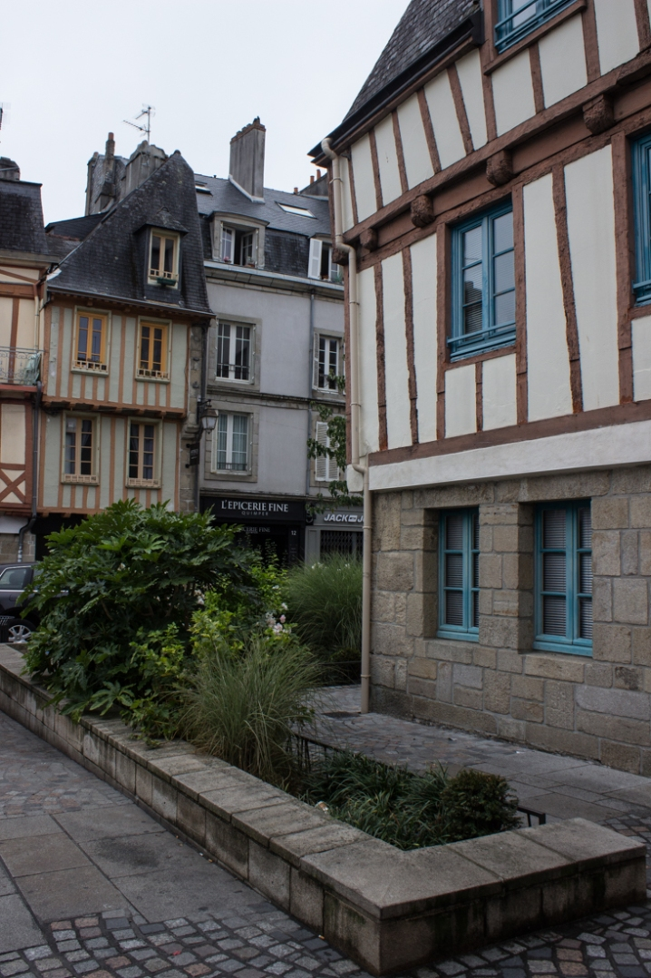 Timbered house in Quimper