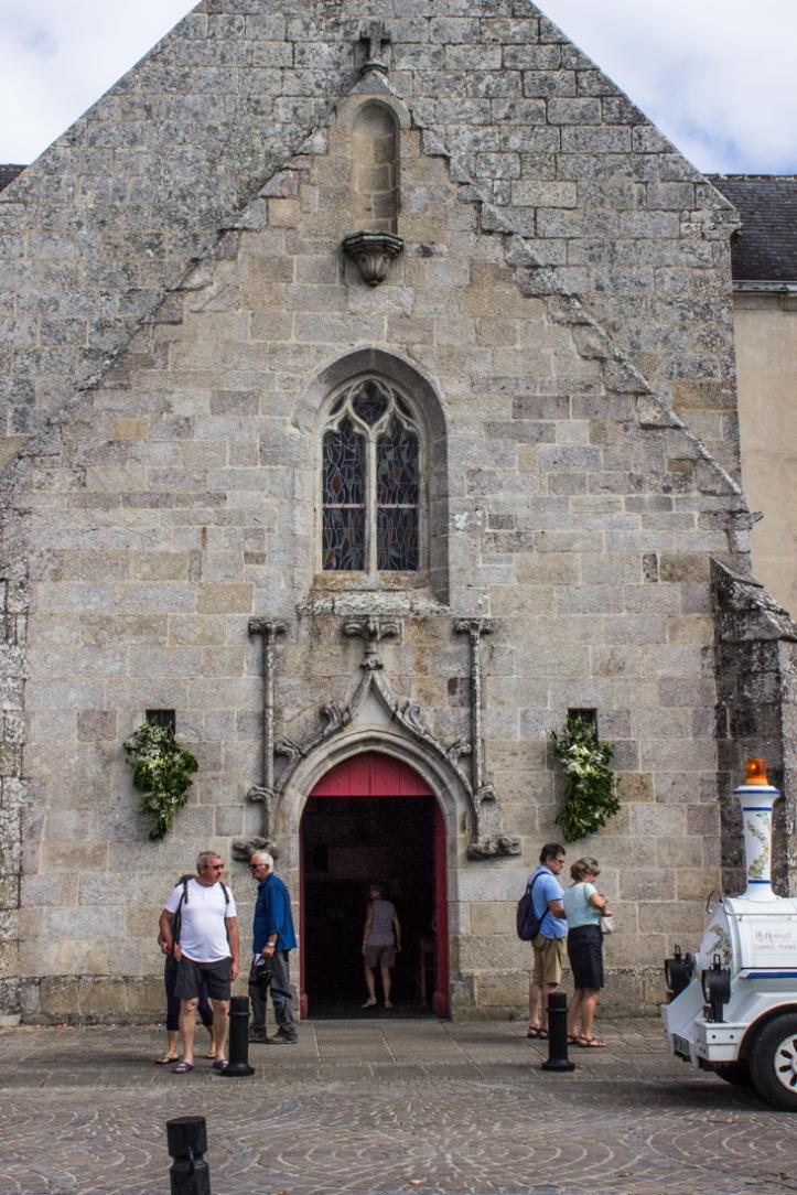 The Church of St Thomas, Benodet