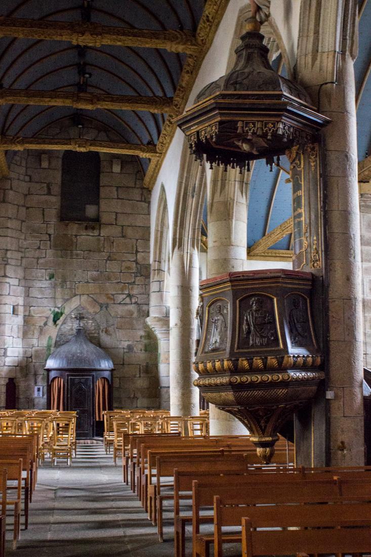 The Pulpit, Bodilis church