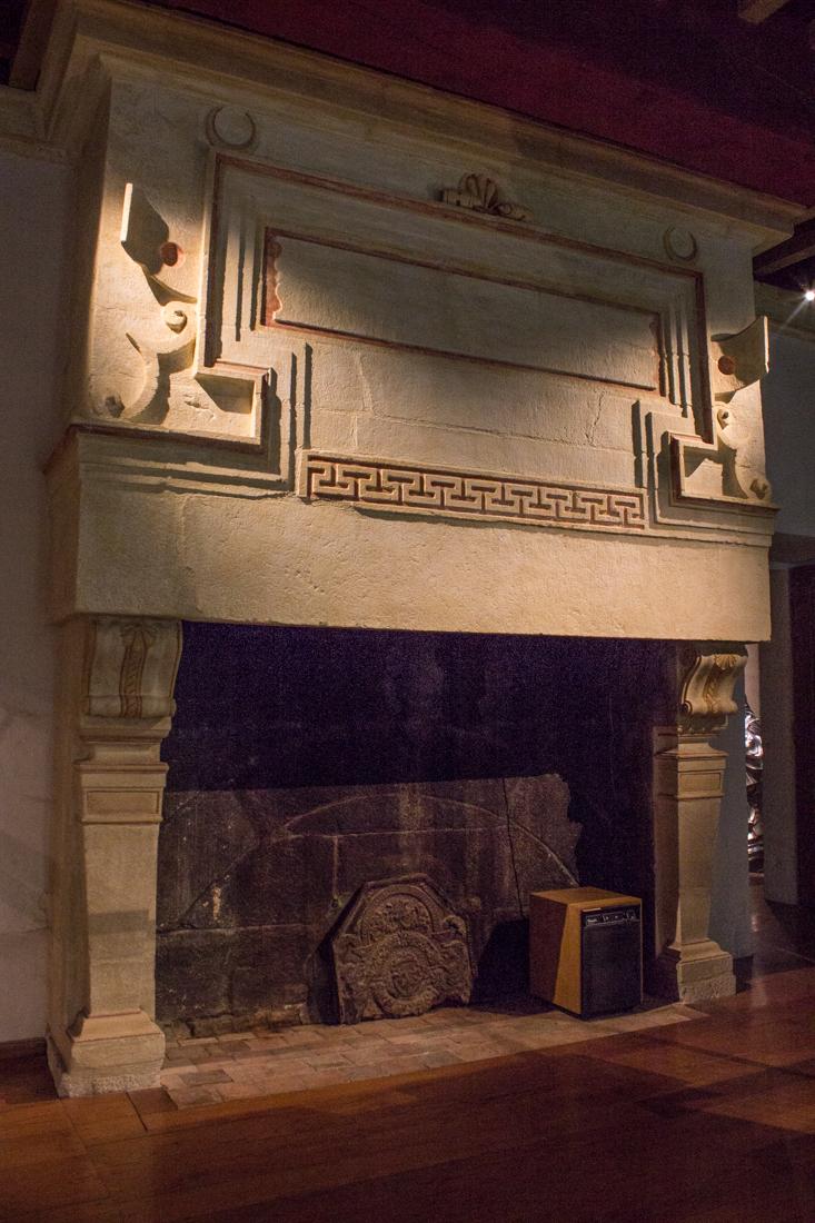 Fireplace, Chateau of Kerjean